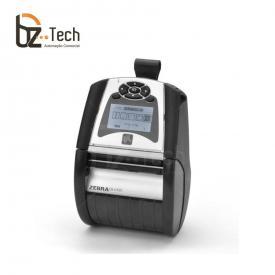 Impressora Térmica Etiqueta Zebra Qln320 Transferência Térmica Colorida Usb, Bluetooth e Wifi Bivolt