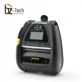 Impressora Térmica Etiqueta Zebra Qln420 Transferência Térmica Monocromática Usb, Bluetooth e Wifi