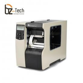 Impressora Térmica Etiqueta Zebra R110xi4 Transferência Térmica Monocromática Usb, Serial, Paralela e Ethernet Bivolt