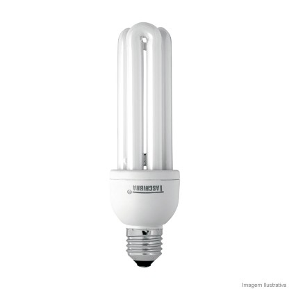 Lâmpada Taschibra Fluorescente 3u 25w 2700k 127v - 7897079032024