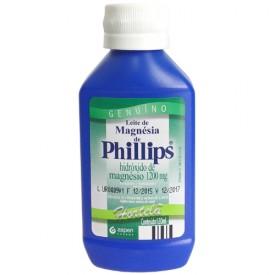 Leite Magnesia Phillips Liq Fr 120ml Sb Hortela - Hidroxido de Magnesio - Glaxosmithkline - Di