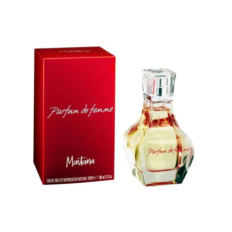 Perfume Parfum de Femme Montana Eau de Toilette Feminino 100 Ml
