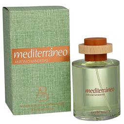 Perfume Mediterráneo Antonio Banderas Eau de Toilette Masculino 100 Ml