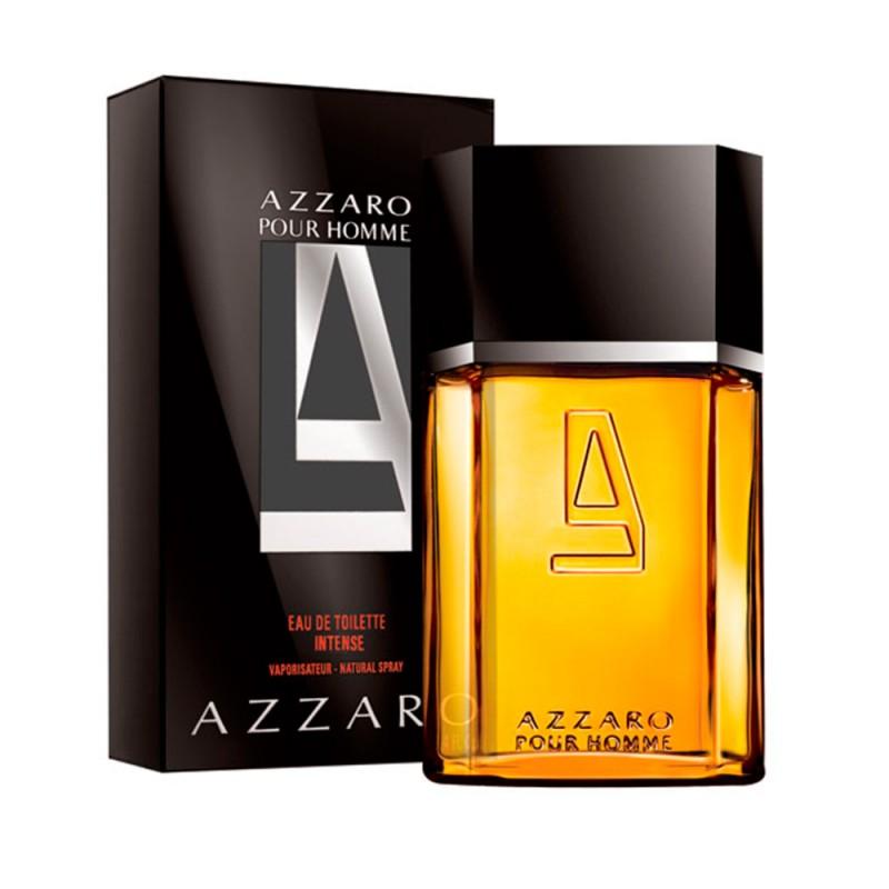 Perfume Pour Homme Intense Azzaro Eau de Toilette Masculino 50 Ml