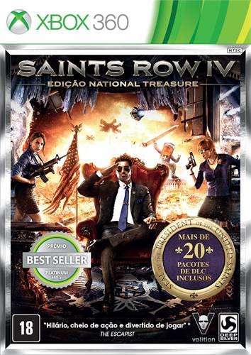 Jogo Saints Row Iv: Edição National Treasure - Xbox 360 - Thq
