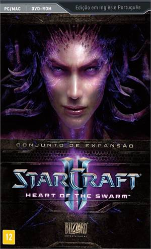 Jogo Starcraft Ii - Heart Of The Swarm Blizzard Entertainment - Pc
