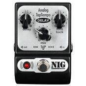 Pedal para Guitarra Pocket Delay Analog Tap Padt Nig Music