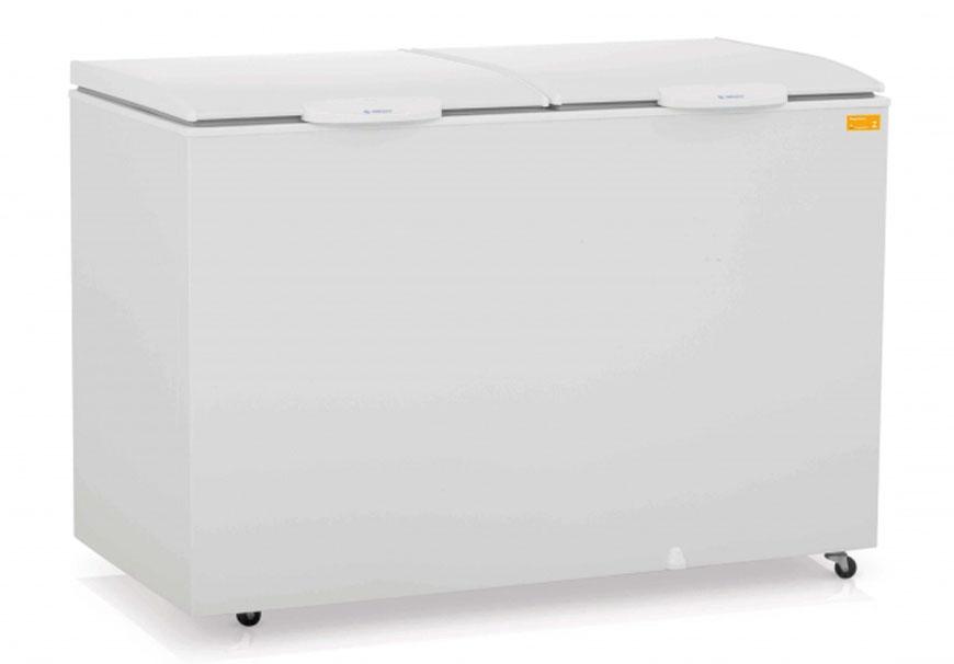 Freezer Gelopar 410 Litros Branco 2 Portas - 110v - Ghda-410