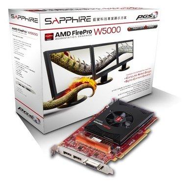 Placa de Vídeo Sapphire W5000 2gb Ddr5 31004-32-41r