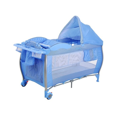 Berco Portatil Burigotto Standard Azul