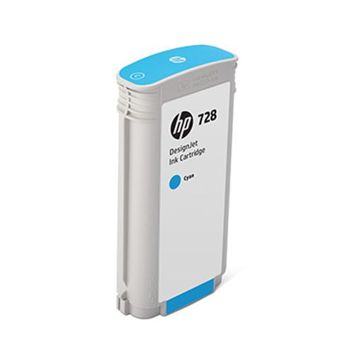 Cartucho Hp 728 130ml Ciano F9j67a