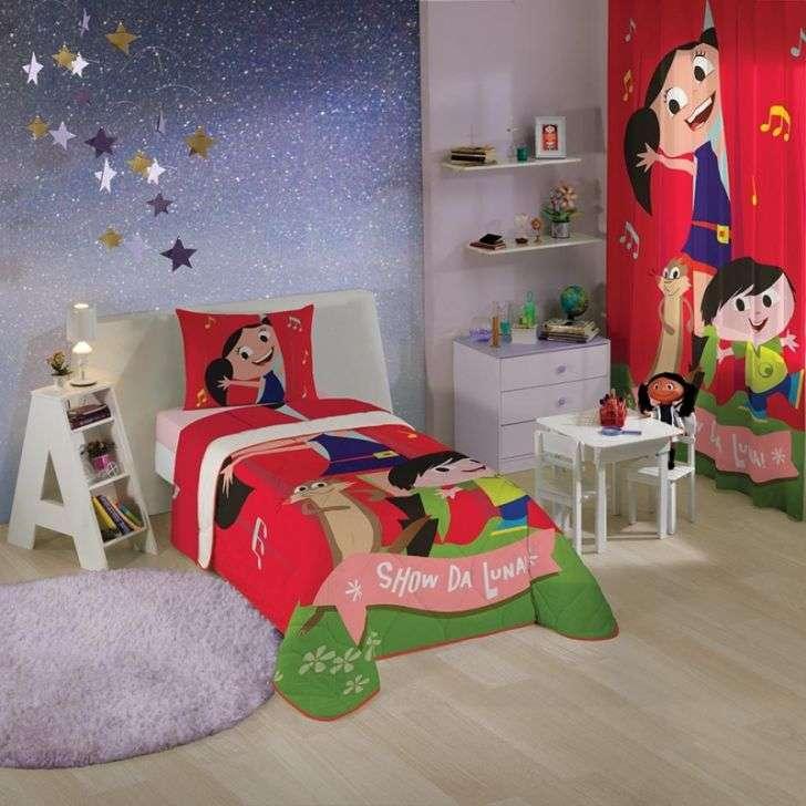 Jogos de Cama Lepper Home Infantil 3 Peças Show da Luna