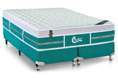 Colchão Castor Gold Star Green 88x188x32cm Molas Pocket Solteiro