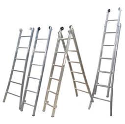 Escada de Alumínio 7 Degraus Ed107 Alulev