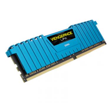 Memória Ram Vengeance Lpx Blue 16gb Kit(4x4gb) Ddr4 2800mhz Cmk16gx4m4a2800c16b Corsair