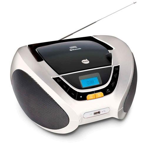 Rádio Portátil Com Cd Dazz 5 W Rms - Dz651380
