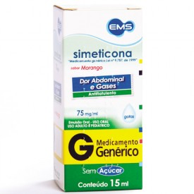 Dimeticona 75mg Sol Fr Gts 15ml - Dimeticona - Ems