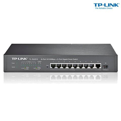 Switch Com 8 Portas Tl-sl2210 Tp-link