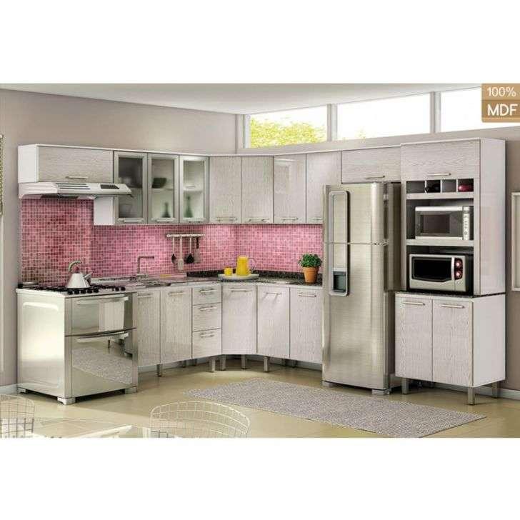 Cozinha Completa Nicioli Kali 9 Módulos