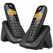 Telefone Sem Fio Intelbras Ts3112 Com Id Preto