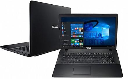 Notebook - Asus X751lj-ty171t I5-5200u 2.70ghz 12gb 480gb Geforce 920m Windows 10 17,3