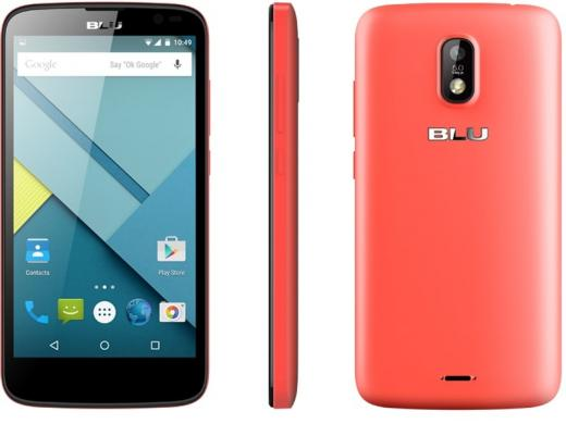 Celular Smartphone Blu Studio G 4gb Rosa - Dual Chip