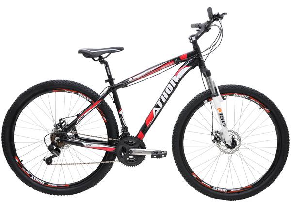Bicicleta Athor Bike Android Ii Aro 29 Susp. Dianteira 21 Marchas - Preto