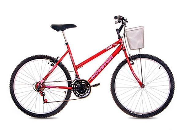 Bicicleta Houston Foxer Maori Aro 26 Rígida 18 Marchas - Vermelho
