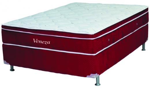 Cama Box Ortobom Veneza 138x188x28cm