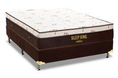 Colchão Ortobom Sleep King 186x198x30cm Molas Pocket King Size