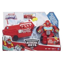 Boneco Heroes Transformers Rescue Bots Bombeiro de Resgate Heatwave Hasbro