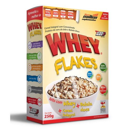 Whey Flakes - 250g New Millen