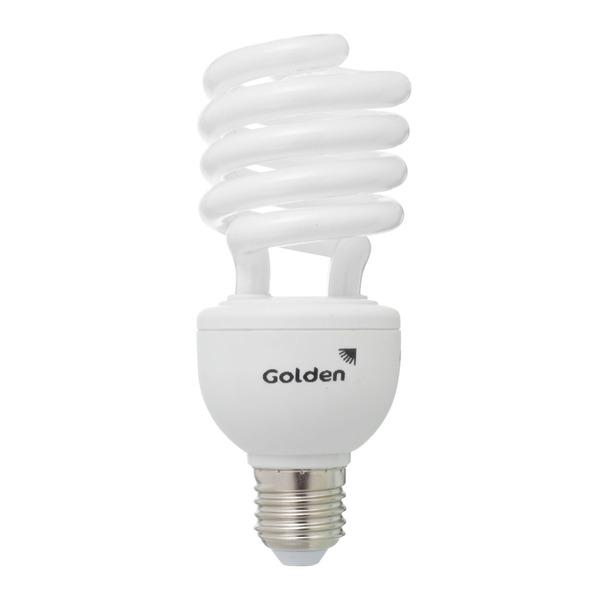 Lâmpada Golden Fluorescente Espiral Ap 30w 2700k 220v