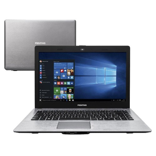Notebook Positivo Xr3520 Notebook Celeron N2806 1.60ghz 2gb 500gb Intel Hd Graphics Windows 10 14