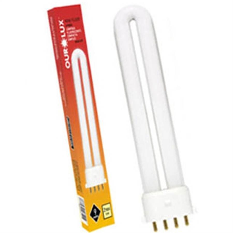 Lâmpada Ourolux Fluorescente Compacta G24q-2 18w 2700k - 01407