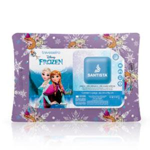 Travesseiro Santista Frozen Elsa e Anna 40% Algodão 60% Poliéster 45x65cm