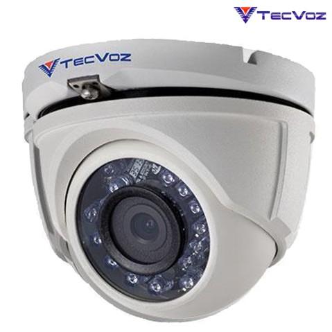 Câmera Tecvoz Dome Hd-tvi Ir 30m 2.0 L 3.6 - Tdm2036m