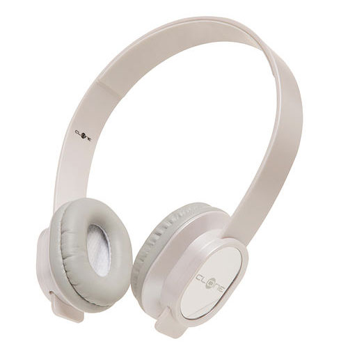 Fone de Ouvido Headphone Clone Estéreo Branco Clone 11270