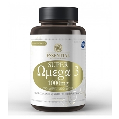 Essential Nutrition Ômega 3 90 Cápsulas