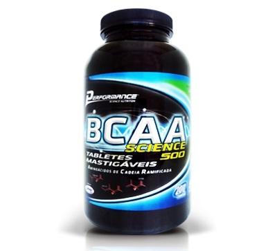 Bcaa Science 500 Frutas - 200 Tabletes Performance
