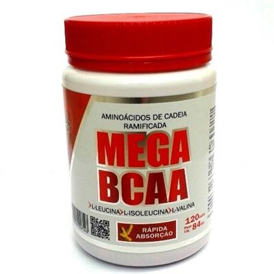Mega Bcaa - 120 Cápsulas Fisionutri