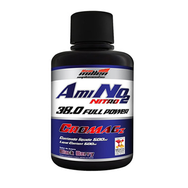 Amino2 Nitro 38.0 Full Power 500ml Cereja Preta New Millen