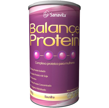 Sanavita Balance Protein Mulheres - Baunilha