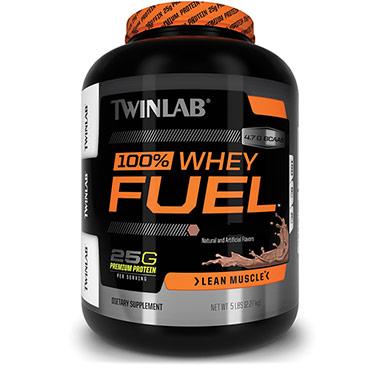 100% Whey Fuel 2,27kg Morango Twinlab