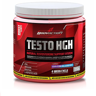 Testo Hgh 150g Uva e Blueberry Body Action