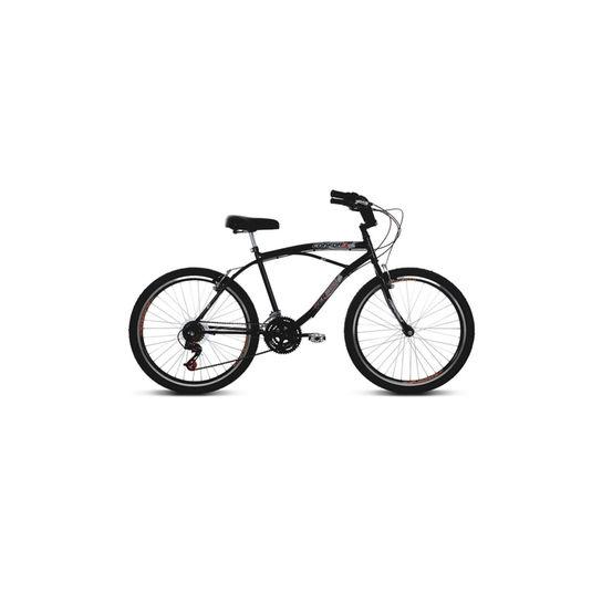 Bicicleta Verden Confort Aro 26 Rígida 21 Marchas - Preto