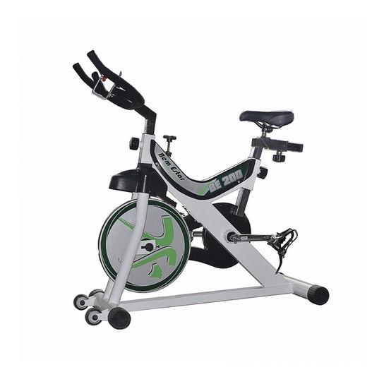 Bicicleta Ergométrica Bem Estar Equipamentos Be200 Spinning Magnética Com Display Eletrônico