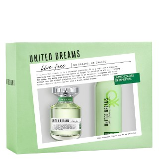Estojo United Dreams Benetton Eau de Toilette Feminino 50 Ml