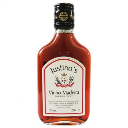 Vinho Justino Madeira Miniatura -