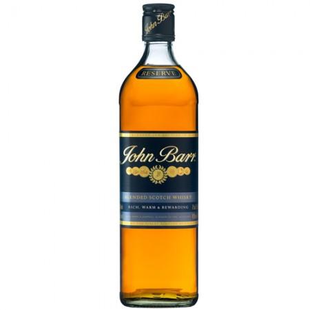 Whisky John Barr Reserve Black 1l - 12 Anos